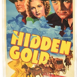 "For the movie ""Hidden Gold"""