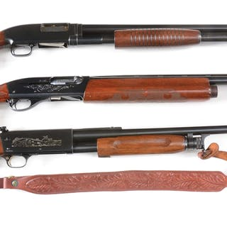 Lot consists of (A) Winchester Model 12 (1959)