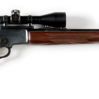This is a later model with deluxe checkered pistol grip...