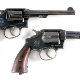 Lot consists of (A) S&W .38 M&P Model 1905 4th change