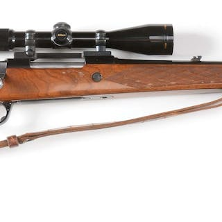 Fairly standard sporting rifle made in London by the famed Parker Hale co