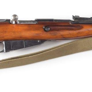 Russian made Mosin Nagant Model 44 bolt action carbine...