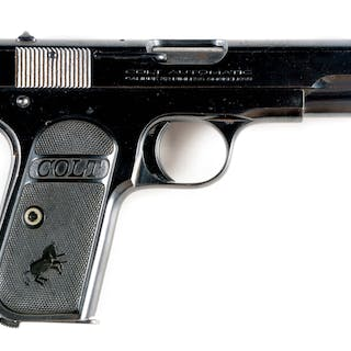 A fairly nice example of the popular Colt pocket pistol