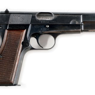 Features include post front sight and dovetailed U notch rear sight