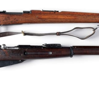 Lot consists of a Carl Gustaf Model 1896 and a Russian...