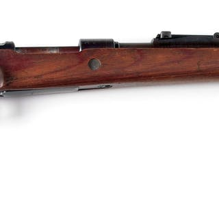 """bcd"" code marked 98k Mauser bolt action rifle made at Gustloff Werke in 1943"