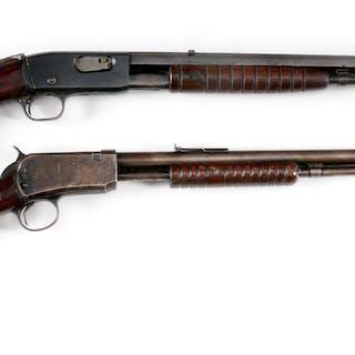 Lot consists of: (A) Remington Model 12-C