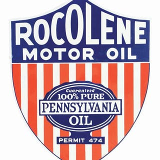 What a rare sign from Rocolene Motor Oil
