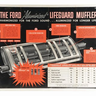 An excellent example of this paper poster from Ford