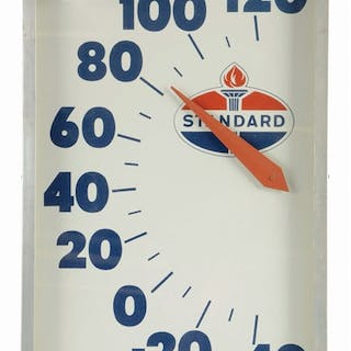 An excellent example of this thermometer from Standard Oil