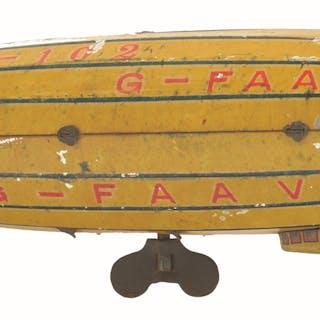 "Marked ""R-102 KK TRADEMARK"" on rear near tail fins"