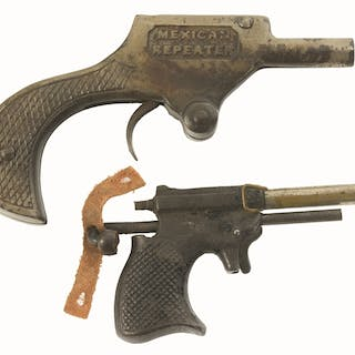 Very unusual lot of two rare guns