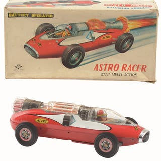 Includes original box with nice color graphics of car...