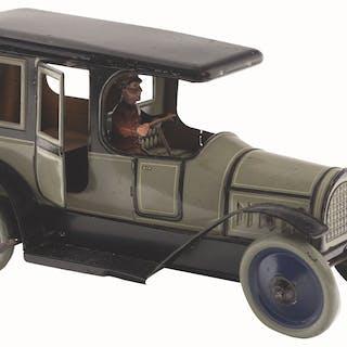 Opening rear doors and original driver
