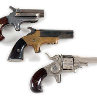 Lot consists of (A) Colt Number 3 Derringer in .41...