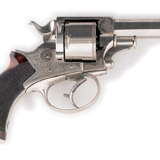 This is a late nineteenth century double action revolver...
