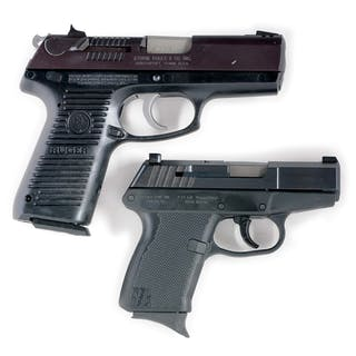Lot consists of (A) Ruger P95DC
