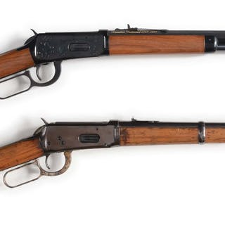 (A) Winchester Canadian Commemorative Short Rifle
