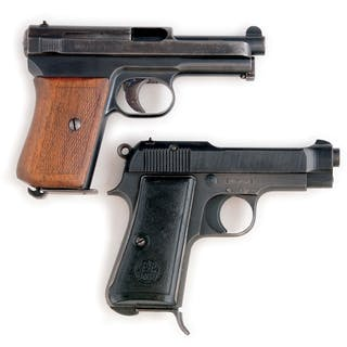 (A) Beretta Model 1934 - The Beretta Model 1934 is a compact