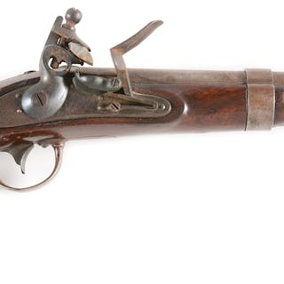 The barrel is of standard 1836 configuration stamped at breech US