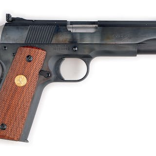 This is an example of the 2nd generation Ace semi-automatic .22 pistol