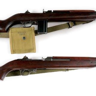 (A) Un-Quality M1 Carbine with Underwood 1-43 barrel