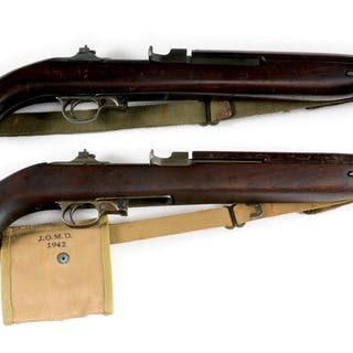 Inland M1 Carbine with flip rear sight