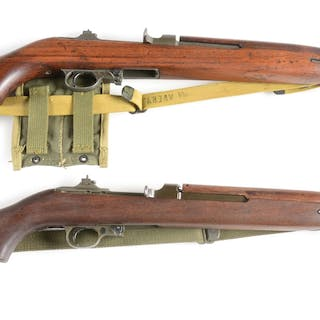 (A) Winchester M-1 carbine made between October 1942 and December 1943
