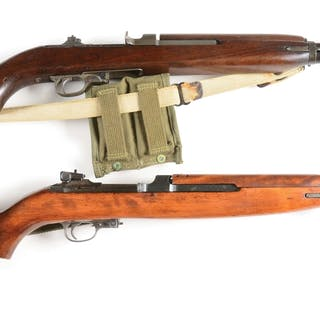 (A) Irwin Pedersen manufactured M1 carbine with Underwood barrel dated 12-43