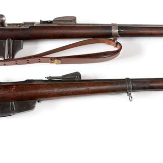 (A) 1875 Dated Maastricht cartouched Duth Bbeaumont rifle