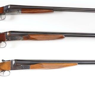 (A) Western Arms boxlock 16 bore