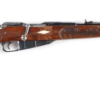 Izhevsk arsenal made Mosin-Nagant Model 91 bolt action...