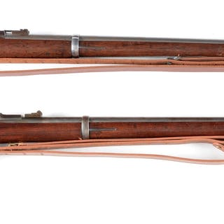 Lot consists of: (A) Model 1870 Springfield trapdoor...