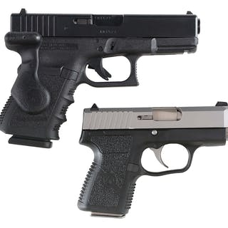 Lot consists of (A) Generation 3 Glock 32 with the...