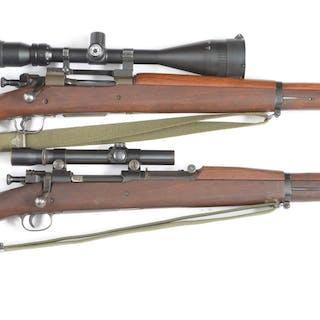 (A) Remington 03A3 bolt action magazine rifle converted...