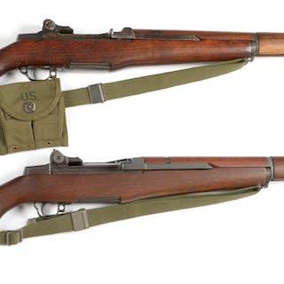 (A) Springfield M1 Garand receiver made in November of...