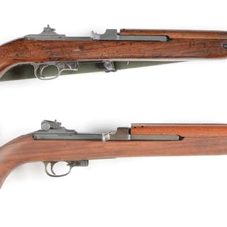 Underwood M1 Carbine 1-43 barrel date with flip sight and unstaked slot