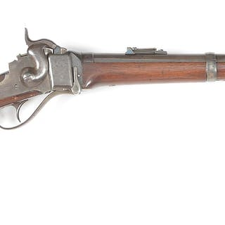 Civil War New Model 1863 Carbine altered to chamber the...
