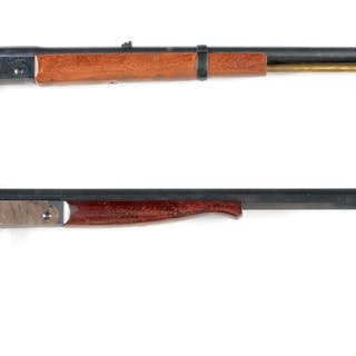 Lot consists of: (A) H&R Shikari model rifle with 24 inch barrel