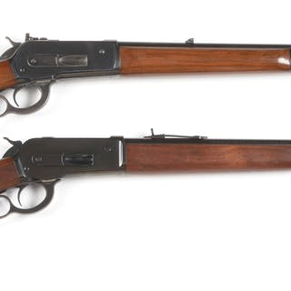 Lot consists of: (A) High condition Winchester pre-War...