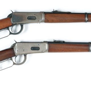 Lot consists of: (A) Winchester Model 1894 World War II...