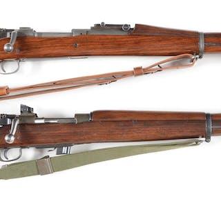 Lot consists of: (A) Rebuilt World War II Springfield Model 1903