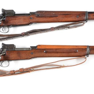 Lot consists of (A) Composite assembled Remington 1917...