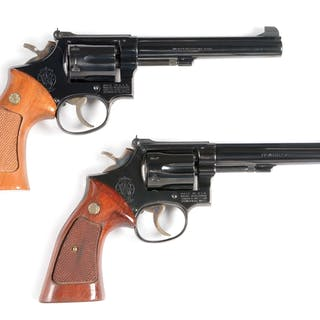 Lot consists of (A) Model 14 Target .38 Revolver
