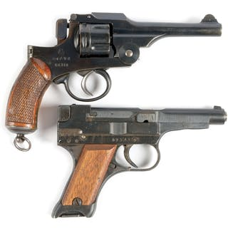Lot consists of: (A) Type 26 revolver of standard configuration