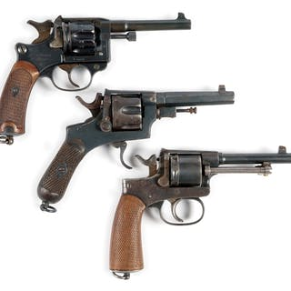 Lot consists of (A) French Model 1892 St