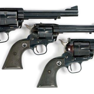 Lot consists of (A) Ruger Blackhawk .44 Magnum Revolver