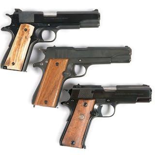 Lot consists of (A) Series 70 Colt