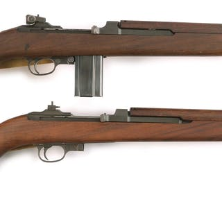 Lot consists of (A) Inland M1 Carbine with Type II band