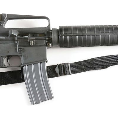 Standard Colt Sporter Match HBar with front sight adjustable for elevation